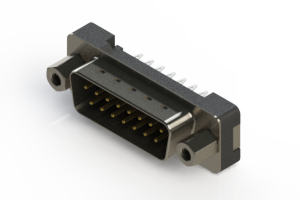 627-015-226-213 - Vertical Plastic Body D-Sub Connector