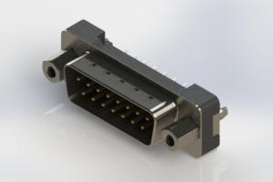 627-015-320-017 - Vertical Plastic Body D-Sub Connector