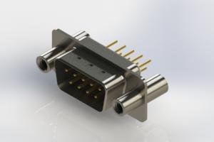 627-M09-220-WT4 - Vertical Machined D-Sub Connectors