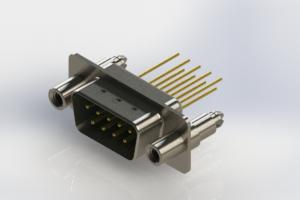 627-M09-223-GT6 - Vertical Machined D-Sub Connectors