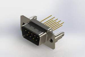 627-M09-223-LN5 - Vertical Machined D-Sub Connectors