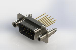 627-M09-223-LT6 - Vertical Machined D-Sub Connectors