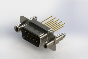 627-M09-323-BN6 - Vertical Machined D-Sub Connectors