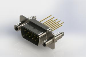 627-M09-323-GT6 - Vertical Machined D-Sub Connectors