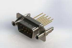 627-M09-323-WN6 - Vertical Machined D-Sub Connectors
