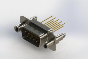 627-M09-323-WT6 - Vertical Machined D-Sub Connectors