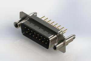 627-M15-320-LN6 - Vertical Machined D-Sub Connectors