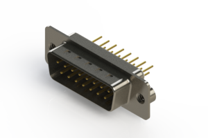 627-M15-320-WN2 - Vertical Machined D-Sub Connectors