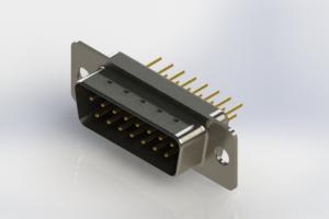 627-M15-620-BN1 - Vertical Machined D-Sub Connectors