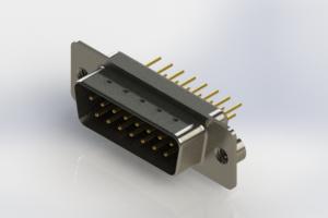 627-M15-620-BN2 - Vertical Machined D-Sub Connectors