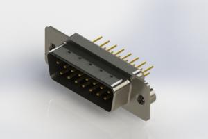 627-M15-620-BT2 - Vertical Machined D-Sub Connectors