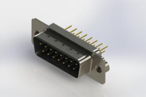 627-M15-620-LT2 - Vertical Machined D-Sub Connectors