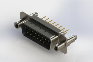 627-M15-620-LT6 - Vertical Machined D-Sub Connectors