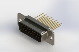 627-M15-623-BT1 - Vertical Machined D-Sub Connectors