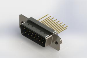 627-M15-623-LN2 - Vertical Machined D-Sub Connectors