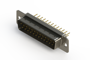627-M25-220-WN1 - Vertical Machined D-Sub Connectors