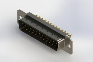 627-M25-222-BT1 - Vertical Machined D-Sub Connectors