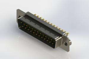 627-M25-222-GT2 - Vertical Machined D-Sub Connectors