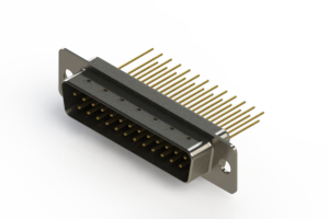 627-M25-223-BT1 - Vertical Machined D-Sub Connectors