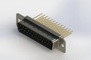 627-M25-223-LN1 - Vertical Machined D-Sub Connectors