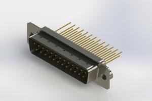 627-M25-223-WT2 - Vertical Machined D-Sub Connectors