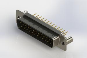 627-M25-320-BT3 - Vertical Machined D-Sub Connectors