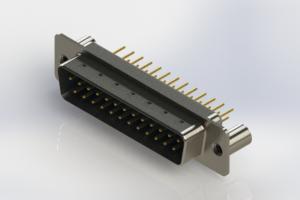 627-M25-320-LN3 - Vertical Machined D-Sub Connectors