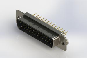 627-M25-320-LT2 - Vertical Machined D-Sub Connectors