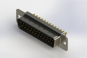 627-M25-322-BN1 - Vertical Machined D-Sub Connectors