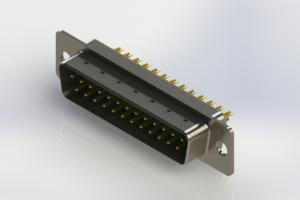627-M25-322-GN1 - Vertical Machined D-Sub Connectors