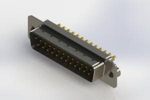 627-M25-322-WT2 - Vertical Machined D-Sub Connectors