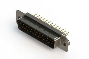 627-M25-620-BT2 - Vertical Machined D-Sub Connectors