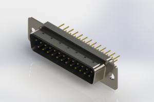 627-M25-620-LN1 - Vertical Machined D-Sub Connectors