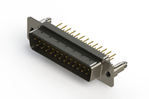 627-M25-620-WN5 - Vertical Machined D-Sub Connectors