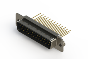 627-M25-623-LN2 - Vertical Machined D-Sub Connectors
