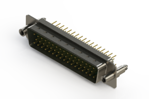 627-M50-620-GN6 - Vertical D-Sub Connector