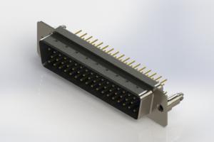 627-M50-620-LT5 - Vertical Machined D-Sub Connectors