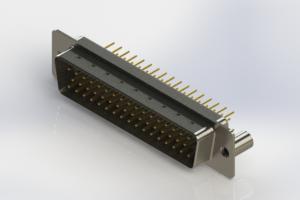 627-M50-620-WN3 - Vertical Machined D-Sub Connectors
