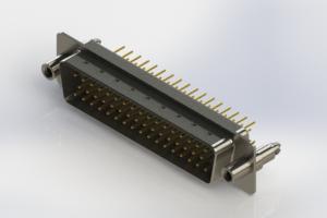 627-M50-620-WT6 - Vertical Machined D-Sub Connectors
