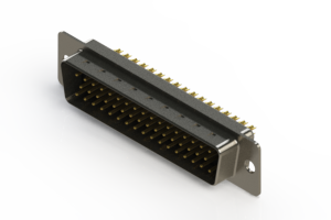 627-M50-622-BN1 - Vertical Machined D-Sub Connectors