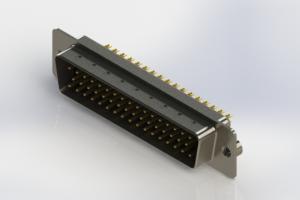 627-M50-622-BN2 - Vertical Machined D-Sub Connectors