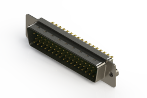 627-M50-622-GN2 - Vertical D-Sub Connector