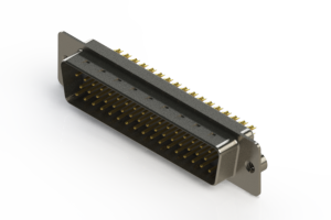 627-M50-622-WN2 - Vertical Machined D-Sub Connectors