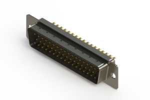 627-M50-622-WT1 - Vertical D-Sub Connector