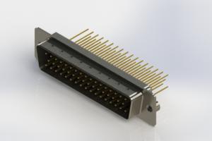 627-M50-623-BN2 - Vertical Machined D-Sub Connectors