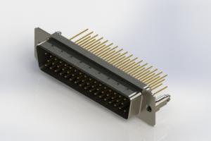 627-M50-623-BN5 - Vertical Machined D-Sub Connectors