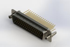 627-M50-623-BN6 - Vertical Machined D-Sub Connectors
