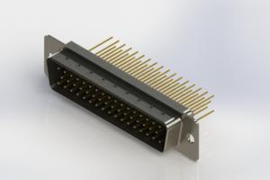 627-M50-623-BT1 - Vertical Machined D-Sub Connectors