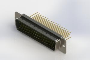 627-M50-623-GN1 - Vertical Machined D-Sub Connectors