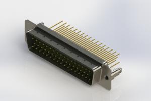 627-M50-623-GN5 - Vertical Machined D-Sub Connectors